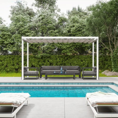 Pergola Cloè Retractable
