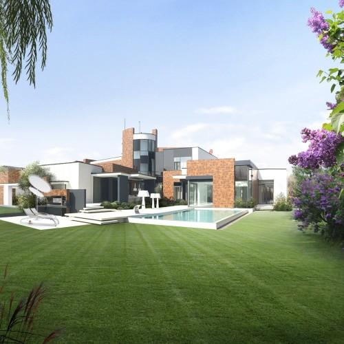 Luxury Panarea Synthetischer Gras