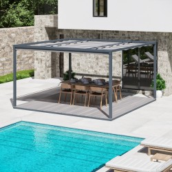 QEEQ.IT - Pergola Arianna Rétractable
