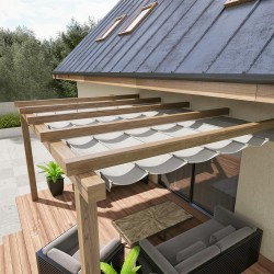 QEEQ.IT - Pergola Mono Retractable